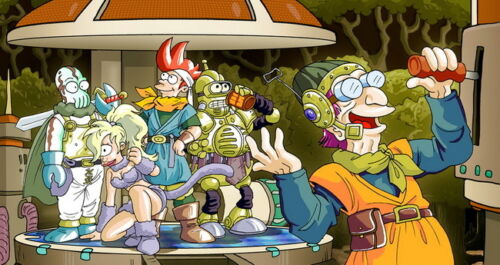 """002 Chrono Trigger Role Playing Video Game 26/""""x14/"""" Poster"""