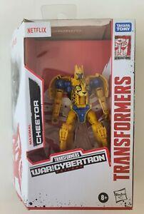 MIB Transformers War for Cybertron Beast Wars Netflix Cheetor Figure