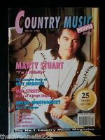 COUNTRY MUSIC PEOPLE - MARCH 1995 MARTY STUART