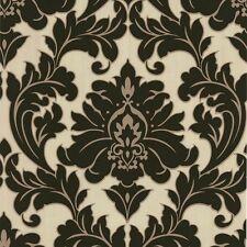 Vliestapete Graham /& Brown 30-159 Vintage Flock Barock beige grau 5,91€//m²