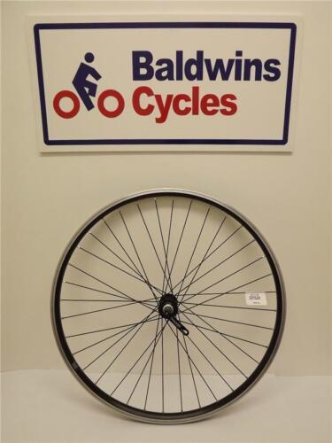 "650B Quick Release 27.5/"" FRONT Mountain Bike Wheel Double Wall BLACK Rim"