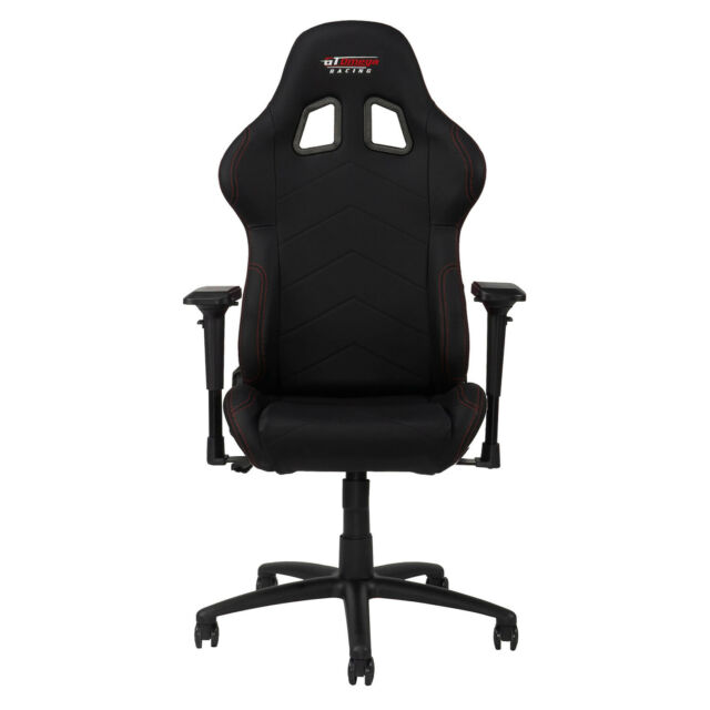 Wondrous Gt Omega Pro Racing Gaming Office Chair Black Leather Esport Seats Ak Machost Co Dining Chair Design Ideas Machostcouk