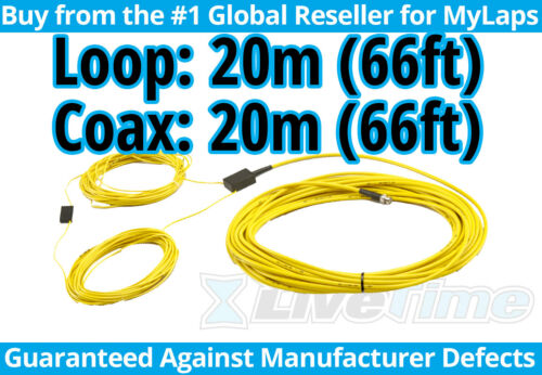 MyLaps 20m Loop w/ 20m Connection Box (AMB, rc cars, r/c cars) - NEW
