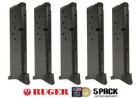 5 Pack Ruger Lc9 9mm 10 Round Extended Magazine By Promag Mag Mags Rug17