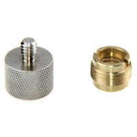 """Microphone Mic Screw Clip Thread Adaptor 1/4"""" 3/8"""" to 5/8""""  For Shock Mount"""