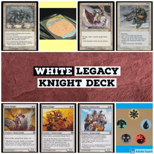 mtg White Knight Legacy deck Magic the Gathering rares Order of the Sacred Torch