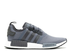 reputable site be5dd d8abe Details about NEW Adidas NMD R1 Runner Nomad Dark Solid Grey Bright Cyan  BB1355 Men