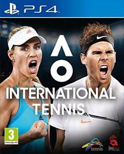 Jeu AO international Tennis PlayStation PS4 / BigAnt Studios Tennis / Comme Neuf