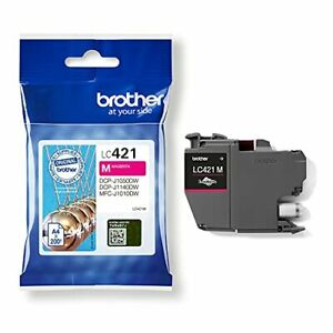 Brother Ink-Brother LC421 Magenta Ink Cart 200 pages NEW