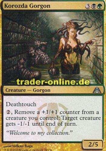 2x Korozda Gorgon Dragon/'s Maze Magic Korozda-Gorgo