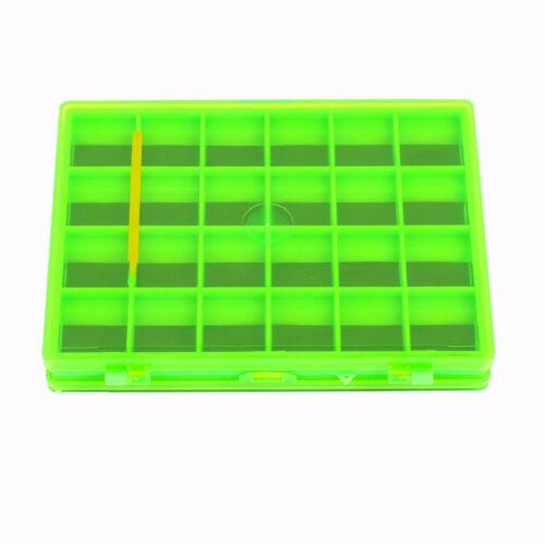 Boîte de pêche à la mouche magnétique imperméable double face avec 44