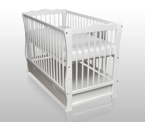 Matratze 120x60cm weiß NEU Babybett Schublade umbaubar Juniorbett Sofa inkl