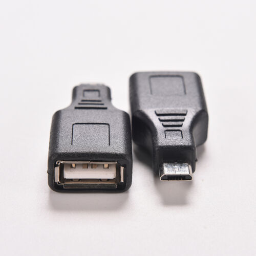 Network USB 2.0 A Female to  Micro USB B 5 Pin Male Cord Cable Hub Adapter OS