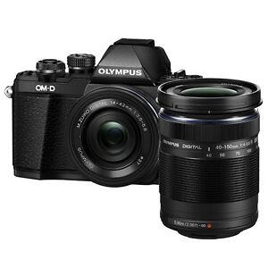 Olympus-E-M10-Mark-II-Black-14-42mm-40-150mm-8GB-Bag