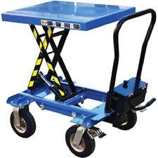 New Pneumatic Tire Hydraulic Elevating Cart 600 600 Lb Capacity