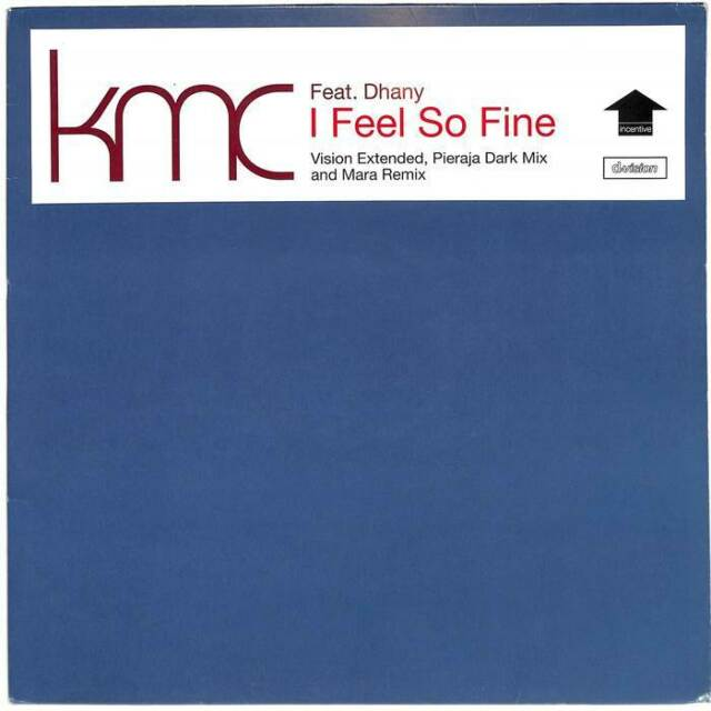 "KMC - I Feel So Fine - 12"" Vinyl Record"