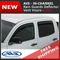 Avs In-channel Rain Guard Visors Window Deflector 2014-2016 Chevrolet Silverado