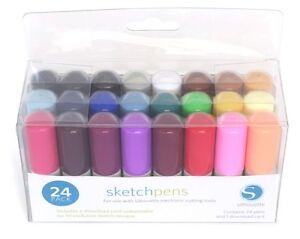 SILHOUETTE-Sketch-Pens-Sketch-Pen-Starter-Kit-pack-of-24-pens