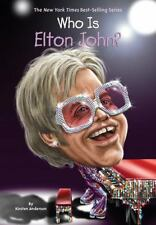 Who Is Elton John? (Who Was...?)-ExLibrary