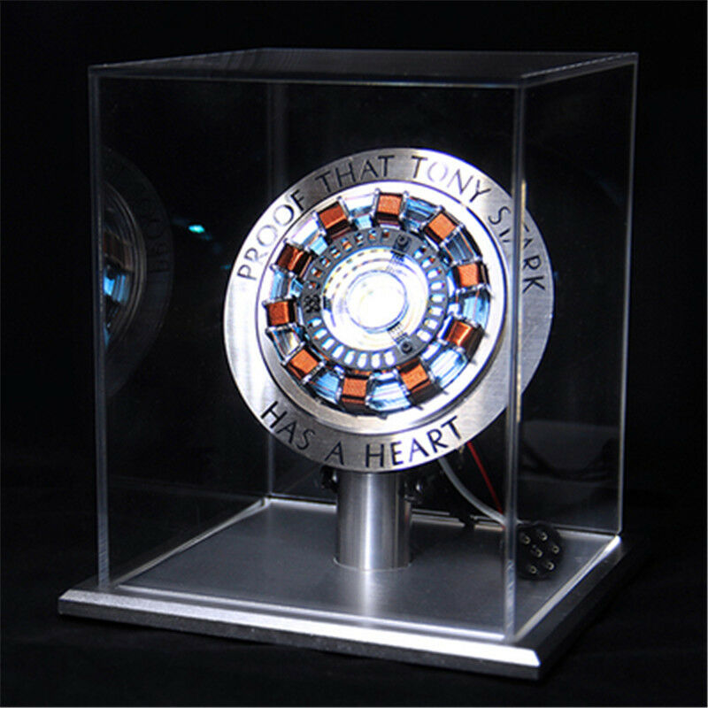 Marvel The Avengers Iron Man Tony Tony Tony DIY Arc Reactor Lamp Kits Or Builted Xmas Gift d5952c