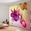 3D Swell Flower Blockout Photo Curtain Printing Curtains Drapes Fabric Window AU