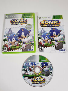 Sonic-Generations-Microsoft-Xbox-360-2011-Complete-w-Manual-Tested
