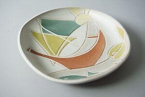 Krosselbach-Wall-Plate-Clare-Pliers-Type-Pottery-231-4-1-98Z