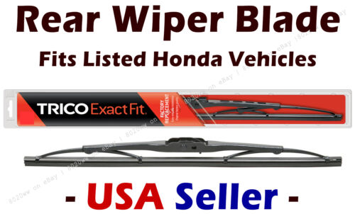 Standard fits listed Honda Vehicles Rear Wiper Blade 13-1