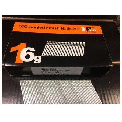 500 Dewalt DT9903QZ 45mm 16 Gauge Angled Nails for DCN660 DCN618