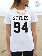 NEW Girls Size Purple Future MRS Louis Tomlinson One Direction T Shirt XS Small