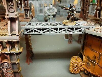 Warhammer 40k gantry with pipe run - Necromunda, killteam sector mechanicus  | eBay