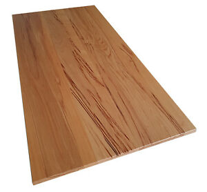 Tischplatte Massivholz Holzplatte Platte Roh Oder Geolt Kernbuche Ebay