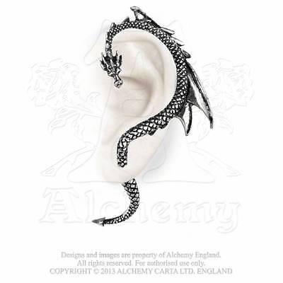 Gothic Drachen Dragon Ohrring Drache Ohrschmuck Ohrstecker Fantasy ALCHEMY E274L