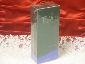 Very-Rare-VINTAGE-TELQUEL-TEL-QUEL-AFTER-SHAVE-LOTION-2-5-0Z-BY-YVES-ROCHER
