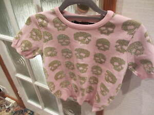 Medium Sibling amp; Pink Short Gold Sister Jumper Skull Size By z6wxFqR