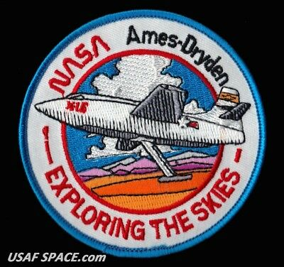 X-15 FLIGHT RESEARCH USAF PATCH NASA Ames-DRYDEN EXPLORING THE SKIES X-1