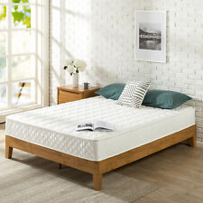 Zinus 8 Inch Spring Mattress with Quilted Cover, Queen