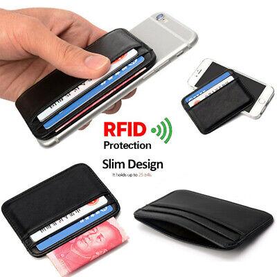 Blocking Hard Case Wallet Credit Card Anti-RFID Scanning Protect Holder UK