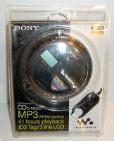 Sony Cd Walkman Cd D-ne330 Mp3/atrac, 41 Hours Playback Id3 Tag/3 Line Lcd