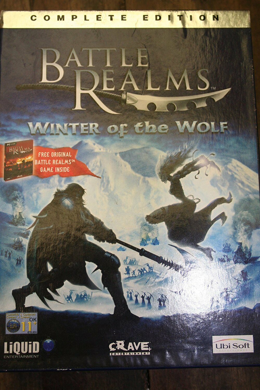 Battle Realms Complete Edition PC Including Winter of the Wolf NEW And Sealed