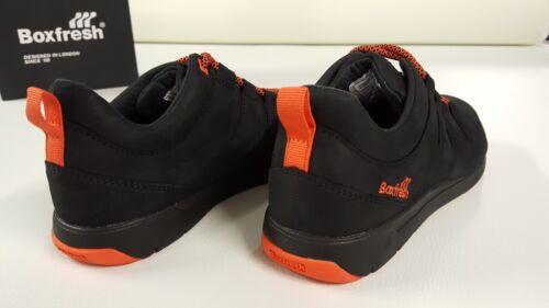 Boxfresh Scarpa nera uomo in pelle con in pelle lacci da Sneaker 7OqRrIOx