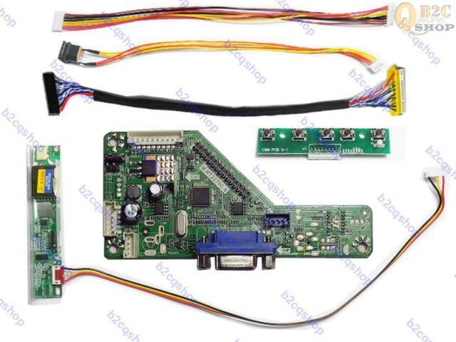 "LCD Controller Board DIY Monitor Kit for 15/"" Screen LB150X02-TL01 RTMC1B VGA"