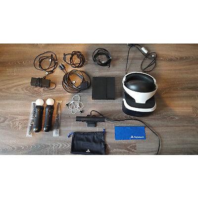 Sony PlayStation VR Brille + Zubehör + Spiele + VR Ständer in sehr gutem Zustand