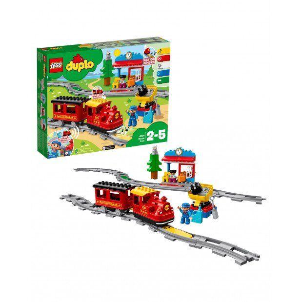LEGO DUPLO TOWN TRENO A VAPORE CON LUCI E SUONI  2 - 5 ANNI   ART 10874