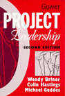 Project Leadership by Michael Geddes, Wendy Briner, Colin Hastings (Paperback, 1996)