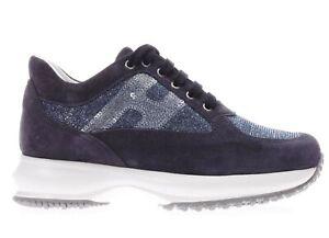 Hogan Junior Bambina Sneaker HXC00N04181FTPU810 Blu Primavera ...