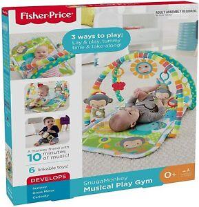 Fisher-Price Palestrina delle Scimmiette con 2 Soffici Archi, 6 Giocattoli Sospe