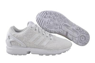 Adidas Zx Flux Donne White Black Scarpa da Ginnastica Bianca S76590   eBay