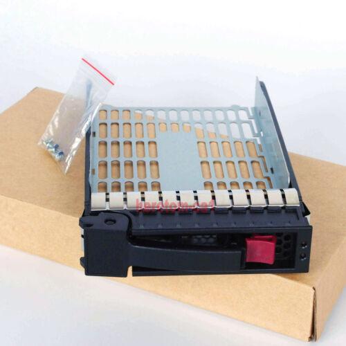 """3.5/"""" SATA SAS TRAY//CADDY FOR HP ProLiant DL120 G7 DL165 DL180 DL320 DL360 G5 NEW"""