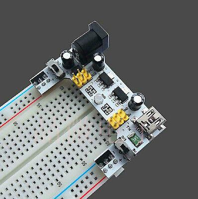 1Pcs 5V/3.3V MB 102 Breadboard Power Supply Module for Arduino Raspberry pi